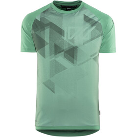 ION Traze AMP Bike Jersey Shortsleeve Men green
